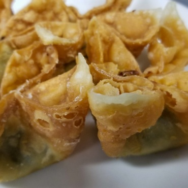 Spinach & Artichoke Rangoon
