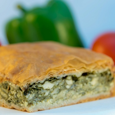 1 Piece Spinach Pie (Homemade)
